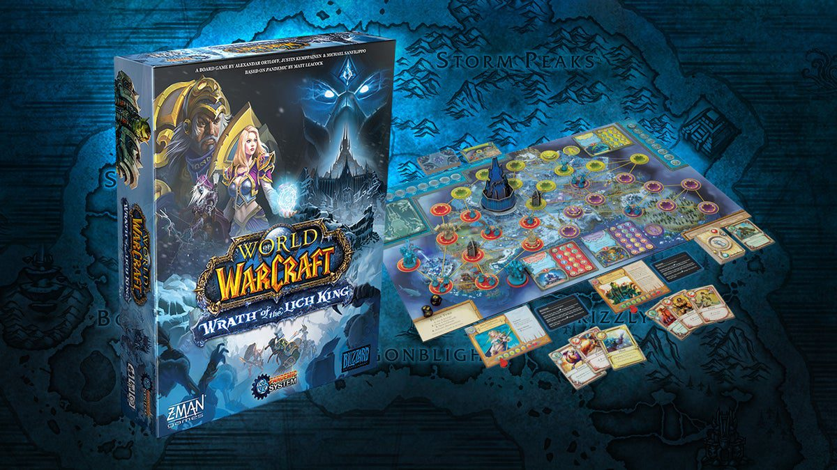 Wrath of the Lich King - A Pandemic System Review